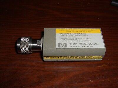 Agilent Hp 8482a Power Sensor Tested100khz 4.2ghz 1uw 100mw -30dbm 20dbm