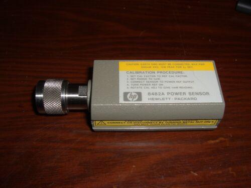 HP / Agilent 8482A Power Sensor **TESTED**100kHz 4.2GHz 1uW 100mW (-30dBm 20dBm)