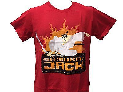 Cartoon Network Samurai Jack Fighting The Evil Aku Vintage Classic Mens T Shirt