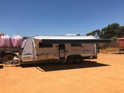 Traveller Rezilience Caravan Piawaning Victoria Plains Preview