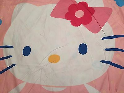 Hello Kitty Fabric, Comforter Cover Shell Girl Bedding Bedroom Reversible Twin