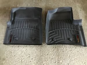 Weather Tech front floor mats for Ford F-150.    $80.00