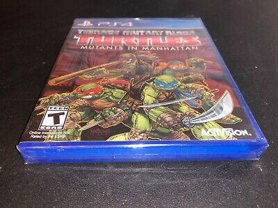 Teenage Mutant Ninja Turtles Mutants in Manhattan PS4 Free shipping & returns!