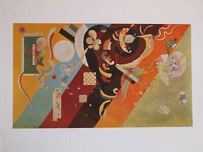 Kandinsky Kunst Poster (Wassily Kandinsky Kunstdruck Poster 24x30cm )
