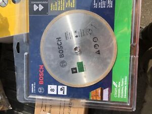 Bosch diamond blade 8""
