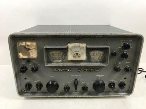 VINTAGE HAMMARLUND HQ-ONE SEVENTY HAM RADIO RECEIVER 170