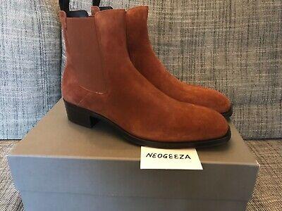 Alexander McQueen Mens suede boots UK10 US11 NEW RRP £650
