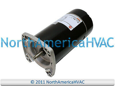 US Motors Nidec Cuadrado Brida Piscina Spa Bomba 1.0 HP C48K2EC11C3 C48K2EC15