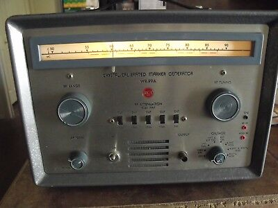Rca Crystal Calibrated Marker Generator Model Wr-99a