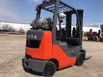 2009 Toyota 5000 Pound Budget Forklift-lpg-we Will Shiptruck Drivers Are Workin