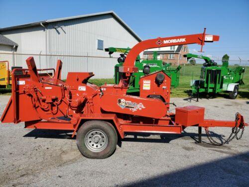 """2012 Morbark Beever M12R 12"""" Drum Wood Chipper  807 Hours Kubota Diesel AutoFeed"""