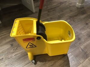Rubbermaid Commercial Mop Bucket and Wringer