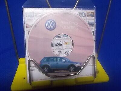 318) VW Volkswagen Touareg 2002  PC CD - DVD Media Presse Information Press Pack gebraucht kaufen  Hohenhameln