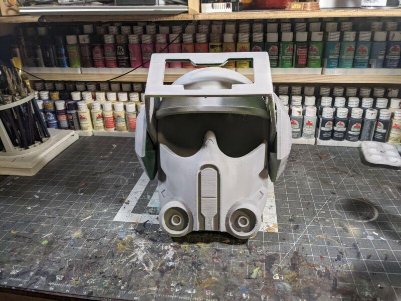 3d Printed Bad Batch Tech Clone Style Cosplay Helmet Kit