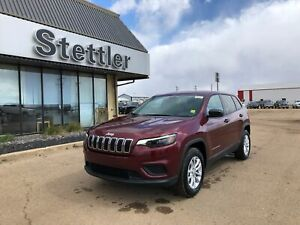 2019 Jeep New Cherokee Sport 4X4! V6! HEATED SEATS! REMOTE START