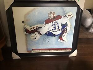 Signed and framed Price picture