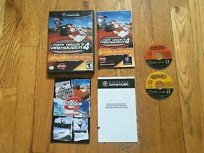 Tony Hawk's Pro Skater 3 & 4 (Nintendo GameCube) 4 Complete, 3 Disc Only TESTED