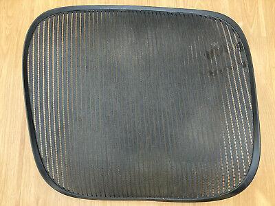 Herman Miller Aeron Chair Seat Mesh Size C Large Black 3d01