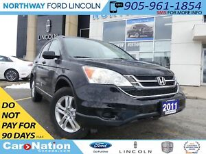 2011 Honda CR-V EX-L 4WD | HEATED LEATHER | MOON ROOF | TOW PKG