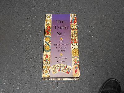 THE TAROT SET THUNDER BAY PRESS. Deck Cards & Book Set Wiccan Pagan Metaphysical