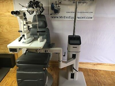 Reliance 980 Chair W Reliance 7800 Stand Complete Lane. Topcon Or Reichert Lamp