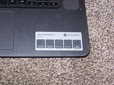 "Acer Chromebook 15 CB3-532-108H 15.6"" (16GB eMMC, Intel Atom Quad-Core, 2.00 GH…"
