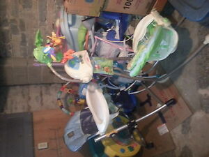 selling high chair, swings, exersaucers, chairs, rockers etc etc Kingston Kingston Area image 1