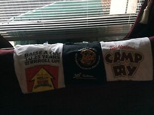 Three Tim Horton's t-shirts