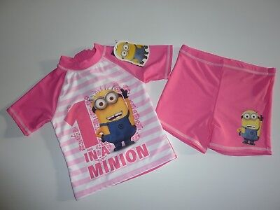 DESPICABLE ME 1 in a MINION Girls Sunsafe Suit 4-5 Years NWT