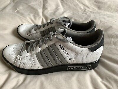 adidas forest hills 7 White/grey/black