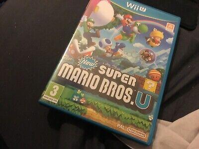 New Super Mario Bros. U Nintendo Wii U Video Game