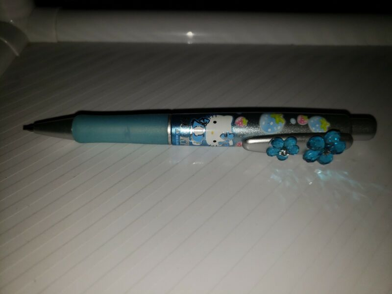 Hello Kitty Mechanical Pencil Blue Strawberry Strawberries 0.5mm