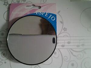 Miroir bleu grossissant x 10 ventouse a l arriere for Miroir grossissant x 20