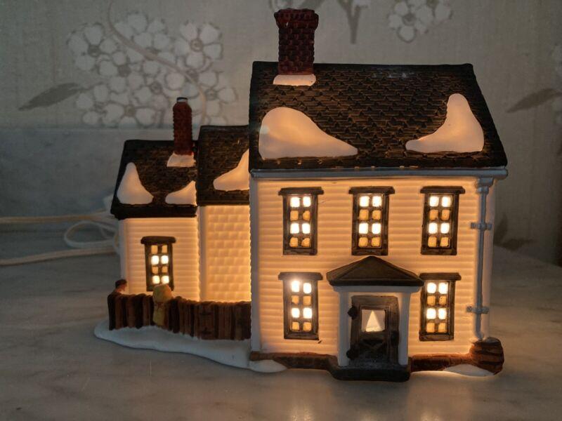 Dept 56 1989 New England Village - Jannes Mullet Amish Farm House