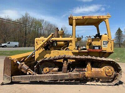 1974 Caterpillar D6c Dozer W Blade Tilt 10k Sn Ready To Work