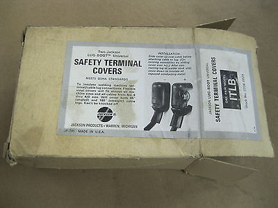 Jackson Welder Lug Terminal Safety Covers Itlb 0706-0029 Osha Required