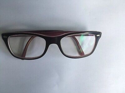 Ray-Ban prescription eyeglasses frame pink and brown
