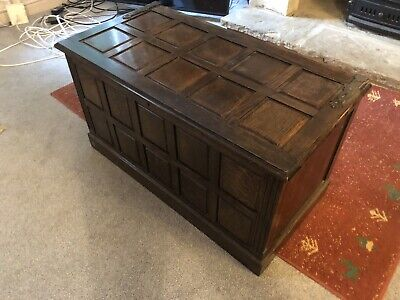 Victorian Oak Chest/coffer