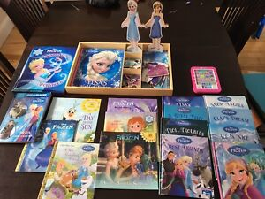 Frozen Magnetic Doll and Books