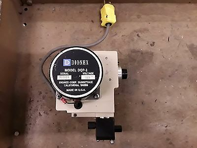 Dionex Model Dqp-1 Sample Reagent Solvent Loading Pump 115v