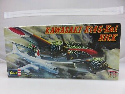 Revell KAWASAKI KI45-KAI NICK 1/72 Scale Model Kit H-104:450 Japan Version 1974