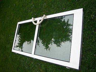 Geschäftstür Haustür Glastüre Glas weiß 208,5 cm x 98 cm