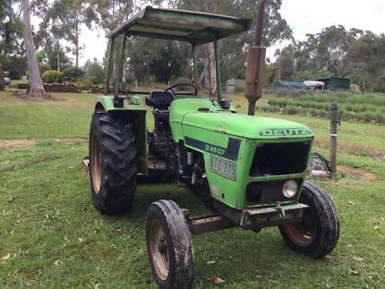 Tractor & slasher