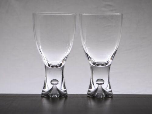 2x Iittala Tapio Red Wine Glasses - Wirkkala, Finland, Bubble, Scandi