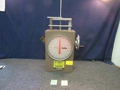 Chatillon Spring Tester Weigh Tube Scale Lab Test Compression Military Used