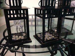 3 indoor/0utdoor candle lanterns