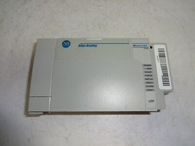 Allen-bradley 1764-lrp Micrologix 1500 Ser.c Rev.f Frn.11 Processor Unit 1764lrp