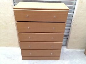 Tallboy (5 drawers) and Chest of Drawers (3 drawers) Canning Vale Canning Area Preview