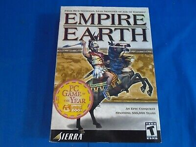 Empire Earth, Disc, Booklet, Some Paperwork & Box for sale  Shipping to India