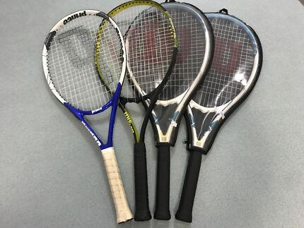 x4 Tennis Racquets